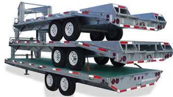 Galvanized steel trailers because who has time for painting?