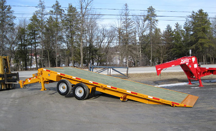 Tag-along Sliding axle series